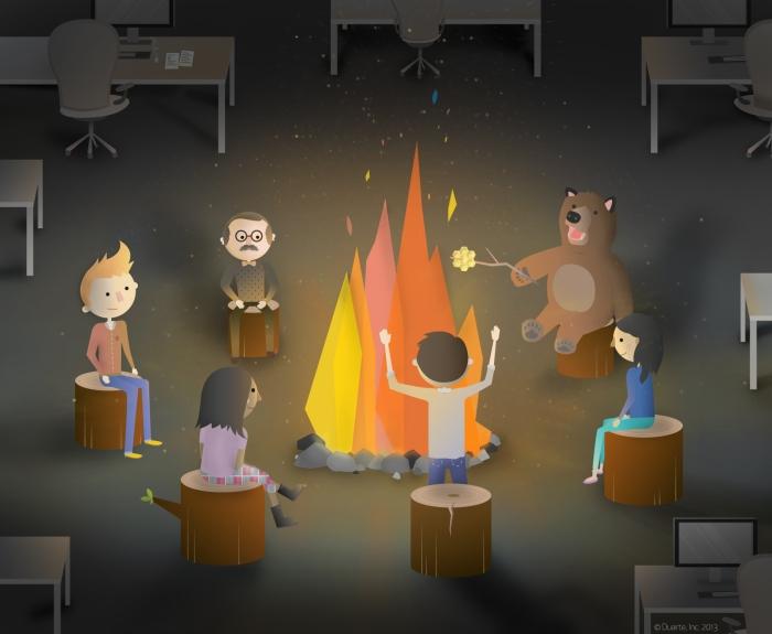Сторителлинг в корпоративной культуре