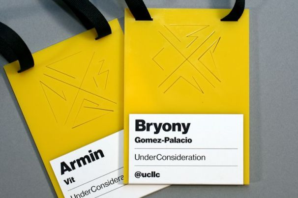 Brand New Conference 2013. Image: underconsideration.com